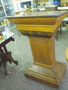 antique podium