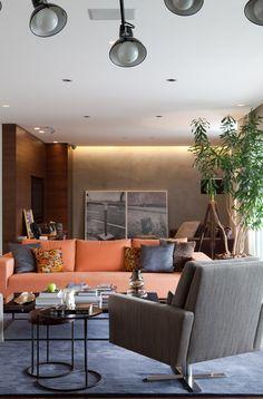 Um apartamento para relaxar e trabalhar. Veja: https://casadevalentina.com.br/projetos/detalhes/perfeito-para-relaxar-e-trabalhar-512 #decor #decoracao #interior #design #casa #home #house #idea #ideia #detalhes #details #cozy #aconchego #casadevalentina #living #livingroom #sala #saladeestar