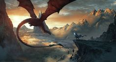 Step into imagined worlds of dragons, magic and mythical creatures on DeviantArt - the world\'s largest collection of original fantasy art. High Fantasy, Medieval Fantasy, Fantasy World, Dragon Illustration, Fantasy Illustration, Fantasy Kunst, Fantasy Art, Fantasy Creatures, Mythical Creatures