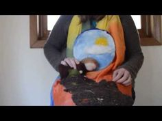 Mother Earth and Her Autumn Blanket: Puppet Play and Felted Story Mat | Song & Season