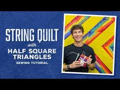 Rob Organizes Strips Of Fabric For This Mesmerizing Quilt – Crafty House