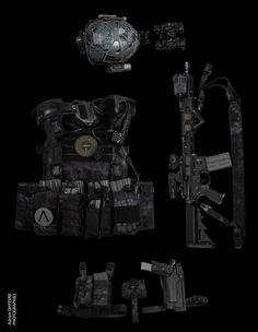 My future kit Kryptek Typhon - Black Powder Red Earth