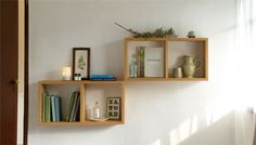 Muji, Comfort Zone, Home Projects, Floating Shelves, Art Pieces, Beautiful Places, Interior Decorating, Layout, Diy Crafts