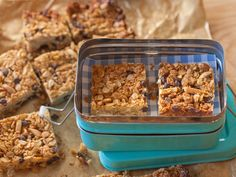 Peanut Butter Granola Bars recipe from Giada De Laurentiis via Food Network