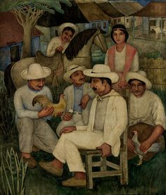 Guajiros (1938) by Eduardo Abela, Cuba
