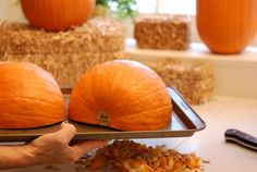 How to Bake a Real Pumpkin Pie.  Excellent step by step pictures and recipe.