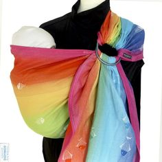 ba87f793320 Didymos Rainbow Fish Ring Sling Preorder Baby Wrap Newborn