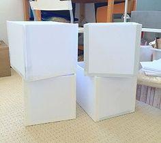 How to Make Custom Sized Storage Boxes