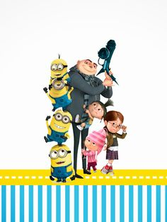 must see Despicable Me (Blu-ray Combo Pack (Blu-ray + DVD + Digital Copy + UltraViolet)) Steve Carell, Love Movie, Movie Tv, Movies Showing, Movies And Tv Shows, Minions Love, Minions Despicable Me, Minion Party, Minion Halloween