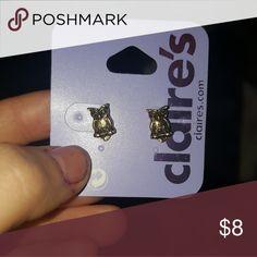 Earrings Owl earrings never worn. Claire's Jewelry Earrings