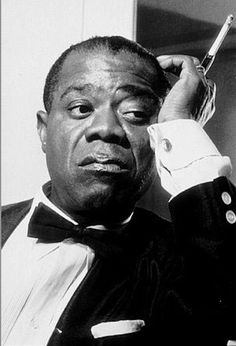 Divo (male Diva) -Louis Armstrong (August 1901 – July was an American jazz trumpeter and singer. Old time radio shows on or regular CDs. Louis Armstrong, Music Icon, My Music, Reggae Music, Old Time Radio, Miles Davis, Jazz Musicians, Jazz Blues, Rock Music