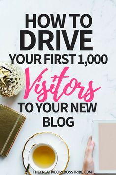 Are you ready to drive the right traffic to your new blog? Learn how to use these seven steps to drive your first 1000 targeted visitors to your new blog!