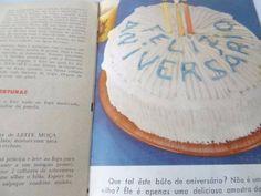 antigo livro de receitas delícias nestlé, anos 50!!!