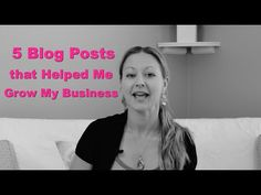 Have you ever wondered how blogging could actually help you grow your business? I used to wonder that exact same thing before 2010.  Since 2010, blogging has helped my grow my business is so many ways and I want to share with you 5 blog posts that have really helped me do this.  As you go through this blog post, I want you to start thinking about ways that you can implement these same concepts to help you grow your business.
