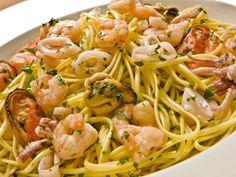 Receita de Espaguete com frutos do mar da Premiatto - Tudo Gostoso