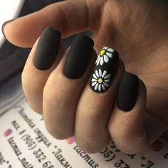 59 Simple Nail Art Designs That Will Shimmer And Shine You Up - Uñas bonitas - Black Nail Designs, Simple Nail Art Designs, Easy Nail Art, Elegant Designs, Nail Art Diy, Summer Acrylic Nails, Cute Acrylic Nails, Summer Nails, Spring Nails
