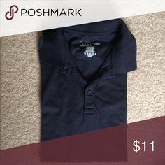 Black Poloshirt Short sleeve police gear Shirts Polos