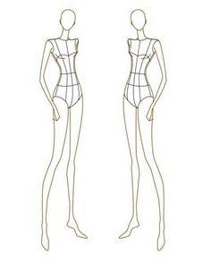 fashion design templates to print