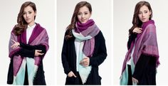 SIZE:142CM X 142CM Weight: 240g High-quality brand scarves