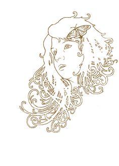 http://magical-moonlight.deviantart.com/art/Art-Nouveau-Girl-WIP-145214906