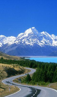 South Island New Zealand Landscape Photography Beautiful Roads, Beautiful World, Beautiful Landscapes, Beautiful Places, Places To Travel, Travel Destinations, Places To Visit, New Zealand Landscape, New Zealand South Island