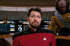 """.Here's A Reminder That Riker From """"Star Trek"""" Didn't Know How To Sit In A F*cking Chair"""