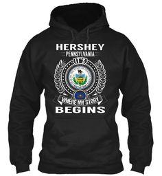 Hershey, Pennsylvania - My Story Begins