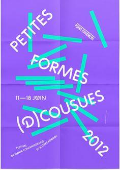 Petites Formes (D)cousues 2012, Festival de Danse contemporaine et autres formes © Studio Frederic Tacer