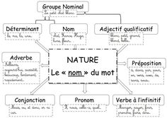 La nature des mots : le groupe nominal (exercices en ligne)