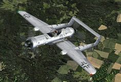 Junkers EF.112, ground attack aircraft. . .