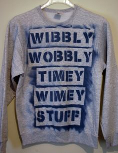 Doctor Who Sweater. I will make thissssssss