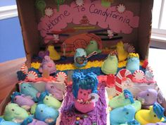 """Welcome to CandyFornia"" Peep-O-Rama Starring Katy Peepers  #KP3D Captain"
