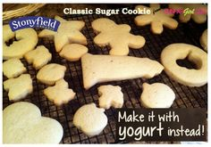 Traditional Holiday Recipes with a Twist: SUGAR COOKIES WITH GREEK YOGURT