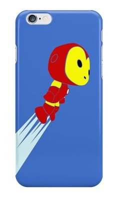 """Iron Man Pop Inspired Art"" iPhone Cases & Skins by adesigngeek 