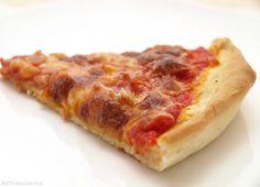 Pizza and Focaccia Base Mozzarella, Frozen Pizza, Hawaiian Pizza, Pepperoni, Cooking Recipes, Cheese, Easy, Food, No Yeast Pizza Dough