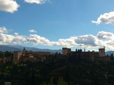 """The Alhambra is awesome! This picture is from """"Mirador de San Nicolás"""""""