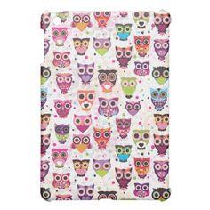 Cute owl ipad mini case $42.95