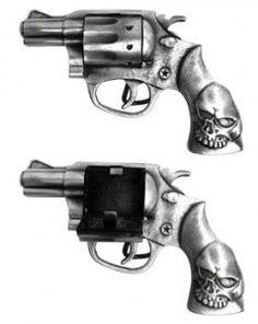Black AK47 Rifle War Gun HIP HOP Clear Bling Rhinestones Fashion Men Belt Buckle