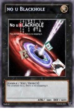 no u meme card Yugioh Trap Cards, Funny Yugioh Cards, Stupid Memes, Dankest Memes, Pokemon Card Memes, Reaction Pictures, Funny Pictures, Yugioh Decks, Uno Cards