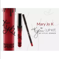 Mary Jo K - Kylie Jenner Lip Kit SOLD OUT NIB For sale is a Lip Kit By Kylie Jenner Mary Jo K Colored Lipstick. This item is COMPLETELY SOLD OUT. NEW IN BOX. It was purchased from the kylie lip kit online store. I will ship it out once I receive it from the Kylie store possibly sometime towards end of next week. Absolutely no trades. Kylie Jenner Makeup Lipstick