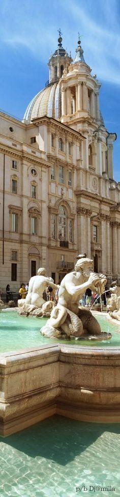 Fontana del Moro, Rome - Italy