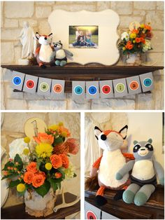 Fox-themed First Birthday Party Ideas - #firstbirthday