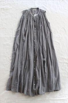 Dress summer simple belts ideas for 2019 Look Fashion, Womens Fashion, Fashion Design, Dress Fashion, Estilo Hippie, Magnolia Pearl, Mori Girl, Yohji Yamamoto, Linen Dresses