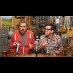 Rhett And Link Are Awesome!! — rhettandlinkareawesome: What it's like to drink...