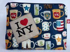 New York, Kosmetiktasche,