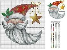 Image result for cross stitch patterns free candy cane snowman