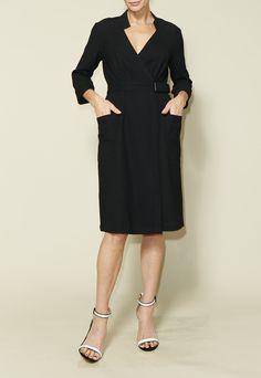 Christy Slip Dress - PDF Sewing Pattern — Just Patterns Modest Outfits, Simple Outfits, Pdf Sewing Patterns, Clothing Patterns, Dress Cuts, Top Stitching, Autumn Winter Fashion, Winter Style, Wool Blend
