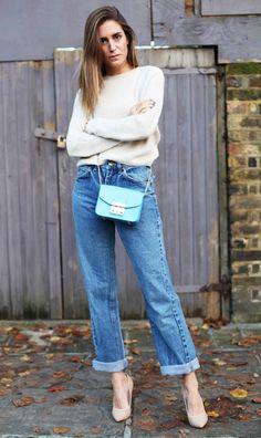 Boyfriend jeans and