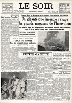 Incendie de l' innovation 22 mai 1967 Vintage Pictures, Did You Know, Childhood Memories, Special Events, Innovation, In This Moment, Saint, Dame, Architecture