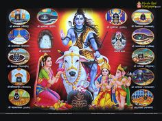 Lord Shiva 12 Jyotirlingas Wallpaper Download